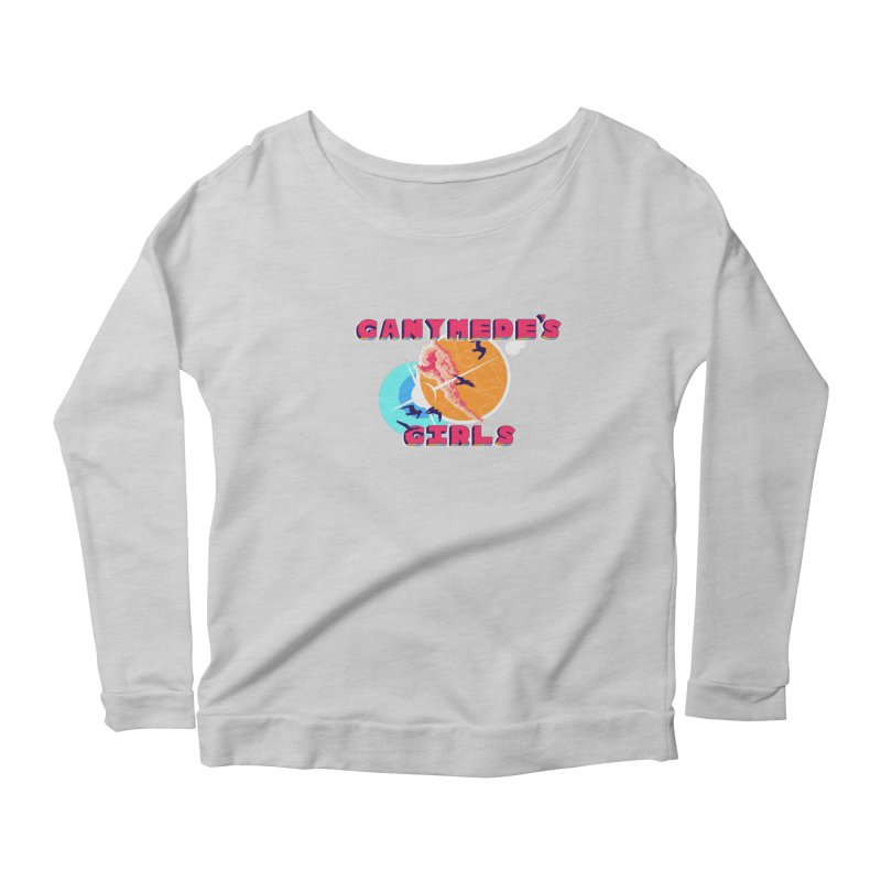 GG Logo Basic Apparel Women's Scoop Neck Longsleeve T-Shirt by ganymedesgirlscommunity's Artist Shop