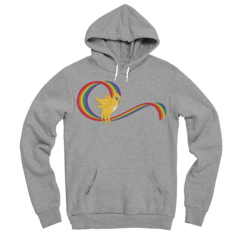 GG Pride Men's Sponge Fleece Pullover Hoody by ganymedesgirlscommunity's Artist Shop
