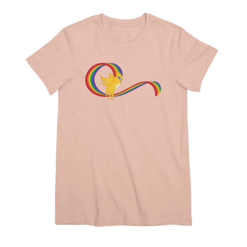 GG Pride Women's Premium T-Shirt by ganymedesgirlscommunity's Artist Shop