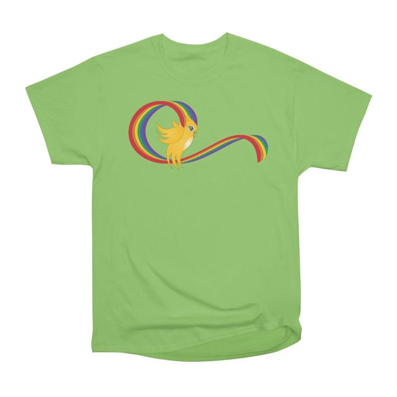 GG Pride Women's Heavyweight Unisex T-Shirt by ganymedesgirlscommunity's Artist Shop