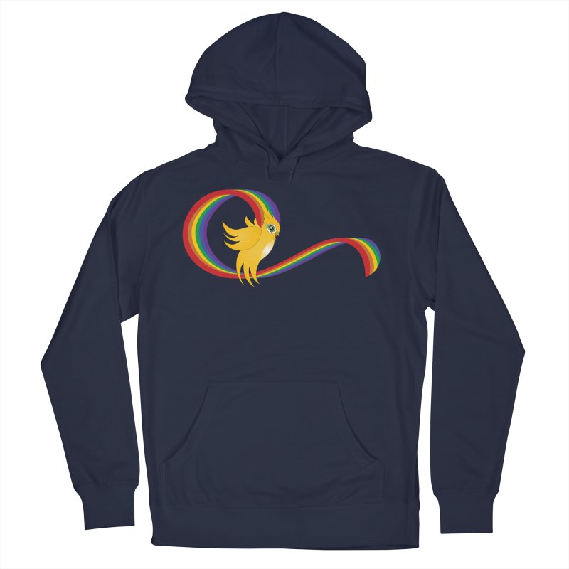 GG Pride Men's French Terry Pullover Hoody by ganymedesgirlscommunity's Artist Shop