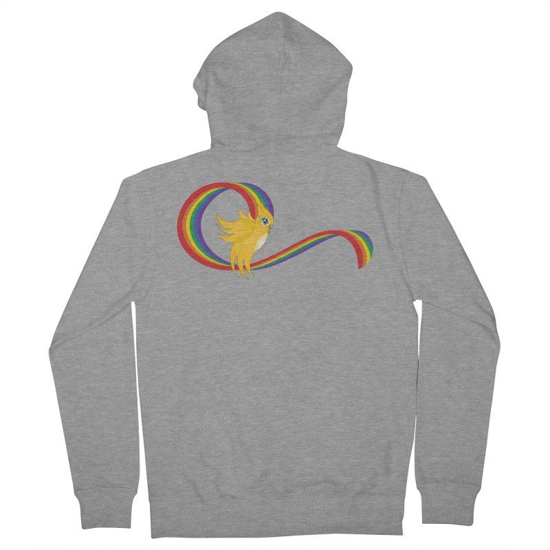 GG Pride Men's French Terry Zip-Up Hoody by ganymedesgirlscommunity's Artist Shop