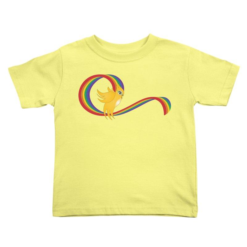 GG Pride Kids Toddler T-Shirt by ganymedesgirlscommunity's Artist Shop