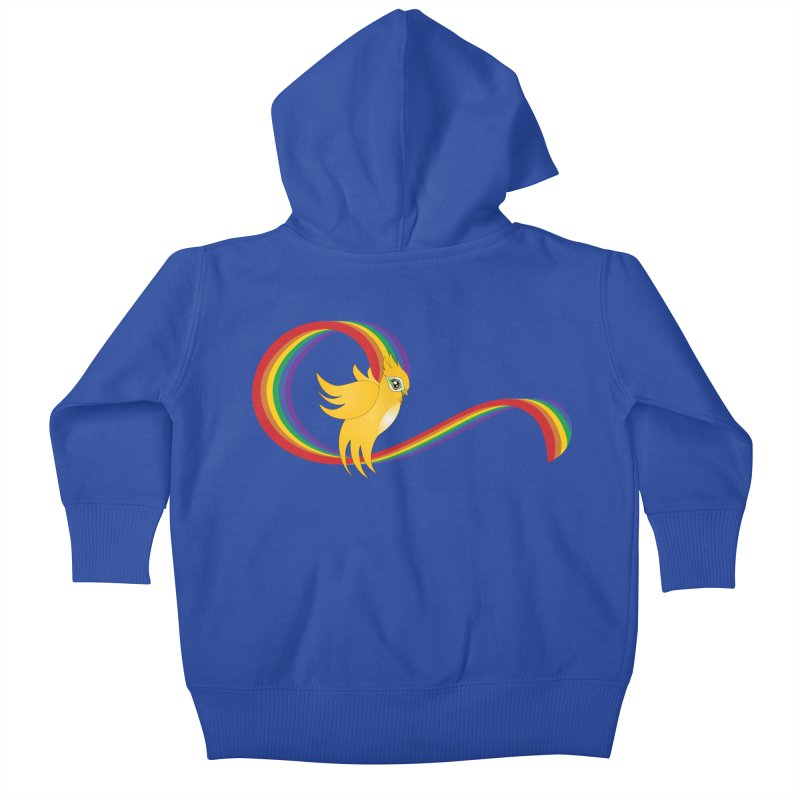 GG Pride Kids Baby Zip-Up Hoody by ganymedesgirlscommunity's Artist Shop
