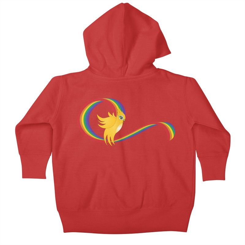 GG Pride Kids Baby Zip-Up Hoody by ganymedesgirlscommunity's Artist Shop