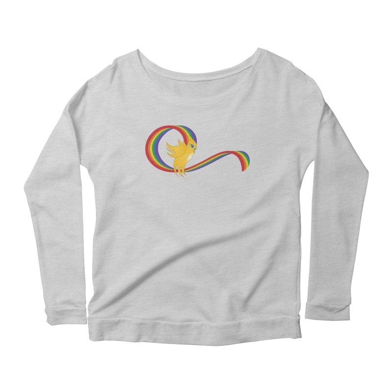 GG Pride Women's Scoop Neck Longsleeve T-Shirt by ganymedesgirlscommunity's Artist Shop