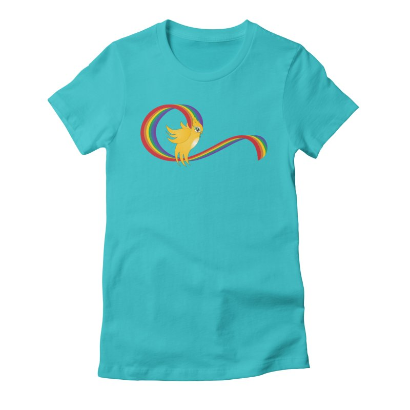 GG Pride Women's Fitted T-Shirt by ganymedesgirlscommunity's Artist Shop