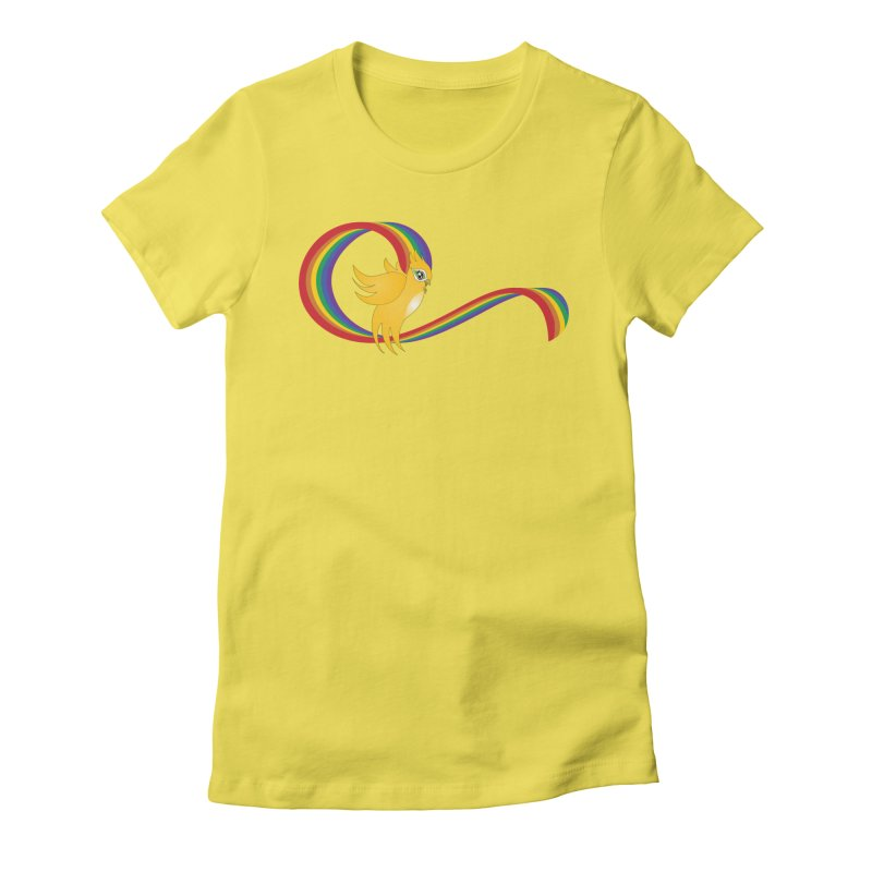 GG Pride Women's Fitted T-Shirt by ganymedesgirlscommunity's Artist Shop