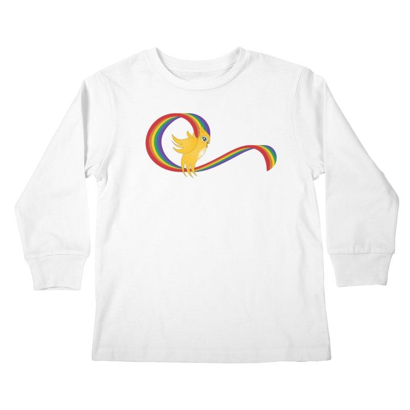 GG Pride Kids Longsleeve T-Shirt by ganymedesgirlscommunity's Artist Shop