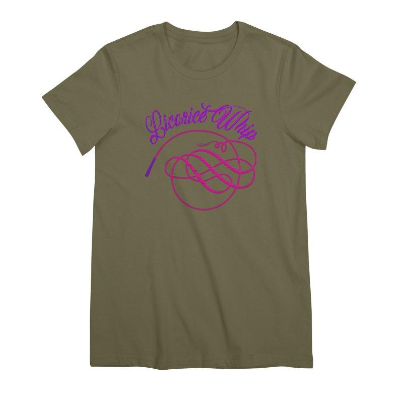 Licorice Whip Women's Premium T-Shirt by ganymedesgirlscommunity's Artist Shop