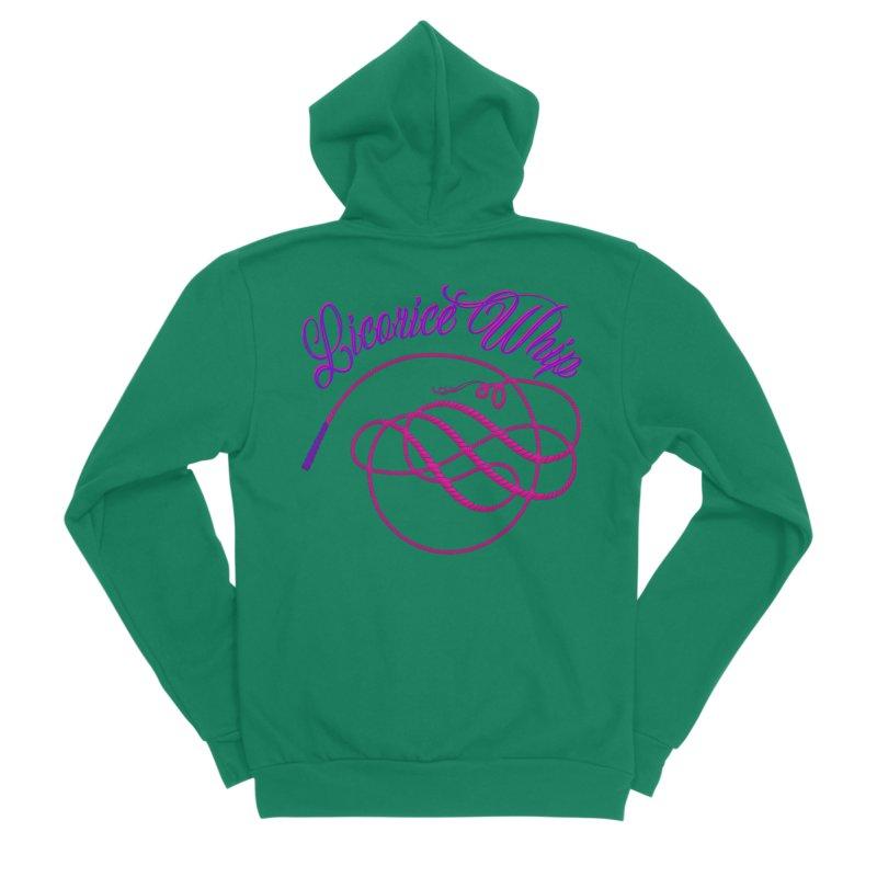 Licorice Whip Women's Sponge Fleece Zip-Up Hoody by ganymedesgirlscommunity's Artist Shop
