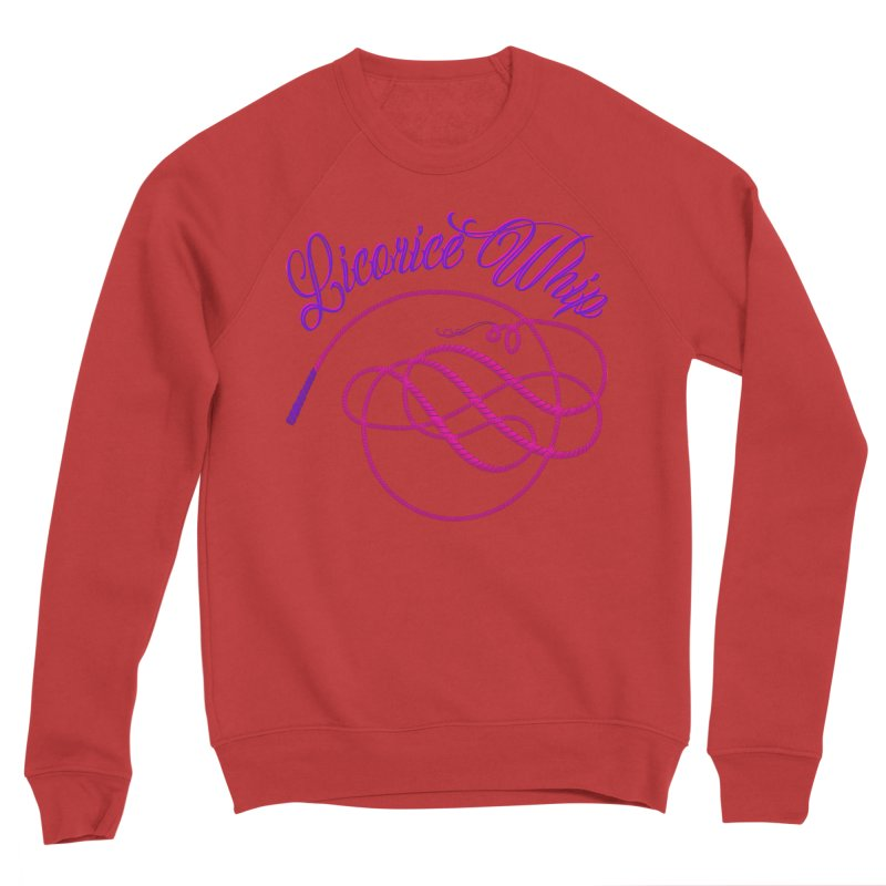 Licorice Whip Women's Sponge Fleece Sweatshirt by ganymedesgirlscommunity's Artist Shop