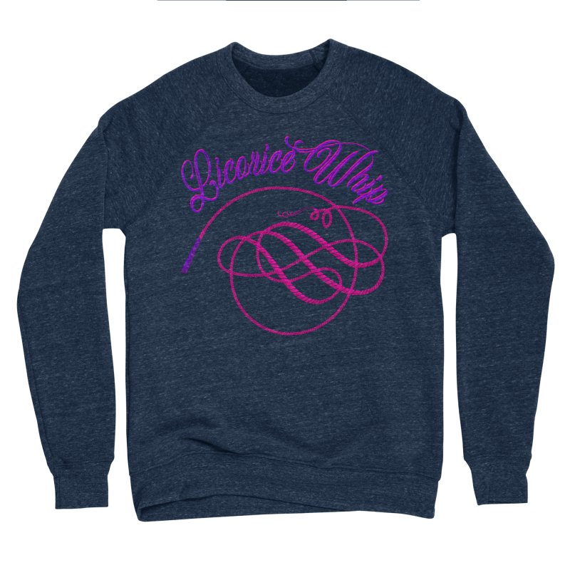 Licorice Whip Men's Sponge Fleece Sweatshirt by ganymedesgirlscommunity's Artist Shop