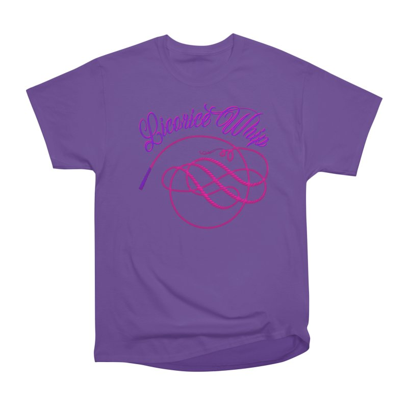 Licorice Whip Women's Heavyweight Unisex T-Shirt by ganymedesgirlscommunity's Artist Shop