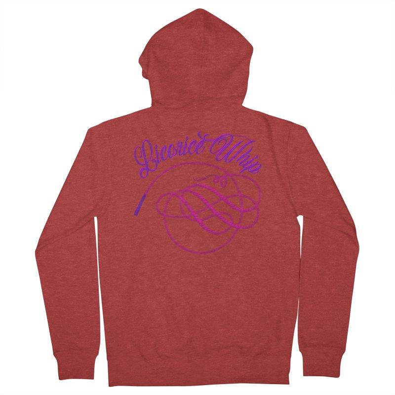Licorice Whip Women's French Terry Zip-Up Hoody by ganymedesgirlscommunity's Artist Shop