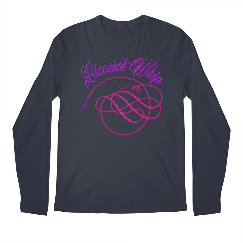 Licorice Whip Men's Regular Longsleeve T-Shirt by ganymedesgirlscommunity's Artist Shop