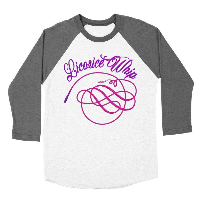 Licorice Whip Women's Baseball Triblend Longsleeve T-Shirt by ganymedesgirlscommunity's Artist Shop