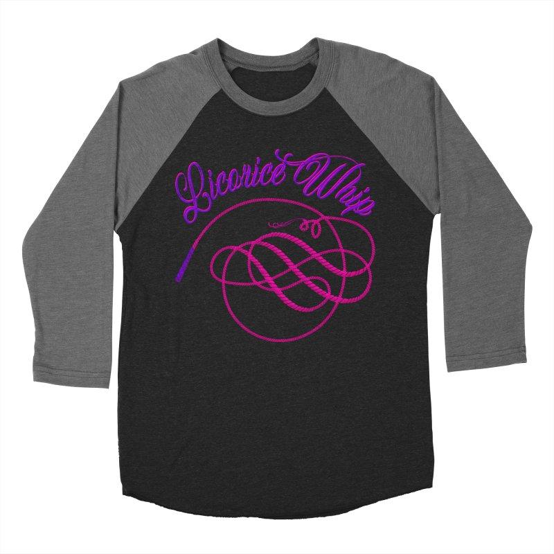Licorice Whip Women's Baseball Triblend Longsleeve T-Shirt by ganymedesgirlscommunity's Artist Shop