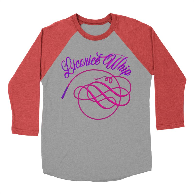 Licorice Whip Men's Baseball Triblend Longsleeve T-Shirt by ganymedesgirlscommunity's Artist Shop