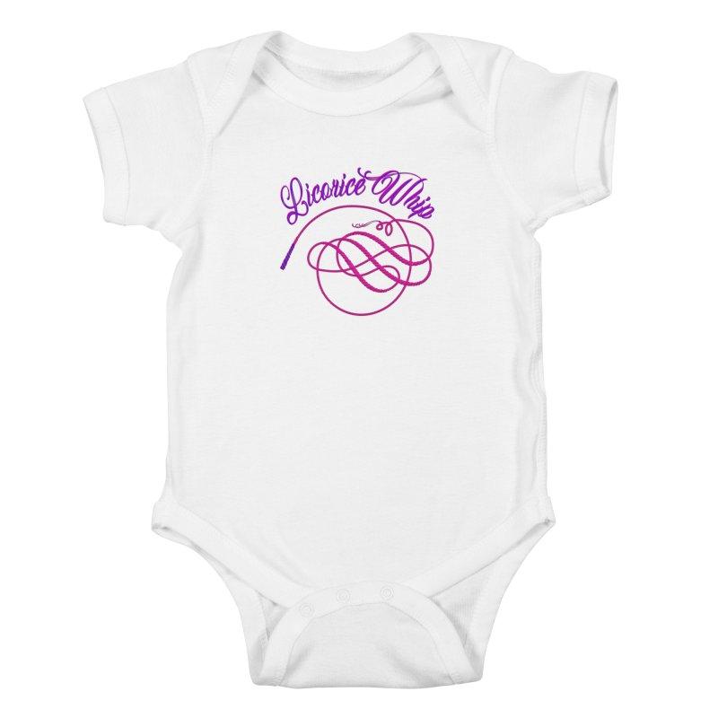 Licorice Whip Kids Baby Bodysuit by ganymedesgirlscommunity's Artist Shop
