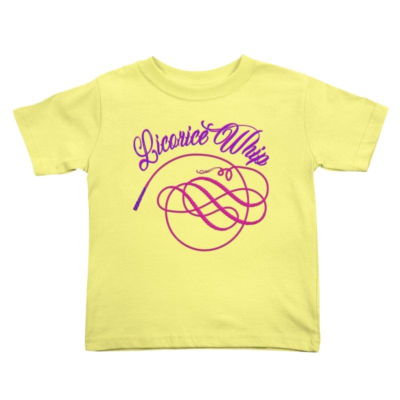 Licorice Whip Kids Toddler T-Shirt by ganymedesgirlscommunity's Artist Shop
