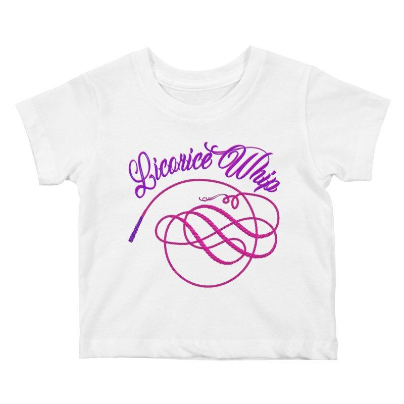 Licorice Whip Kids Baby T-Shirt by ganymedesgirlscommunity's Artist Shop