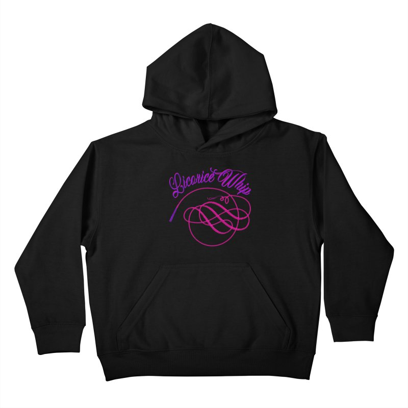 Licorice Whip Kids Pullover Hoody by ganymedesgirlscommunity's Artist Shop