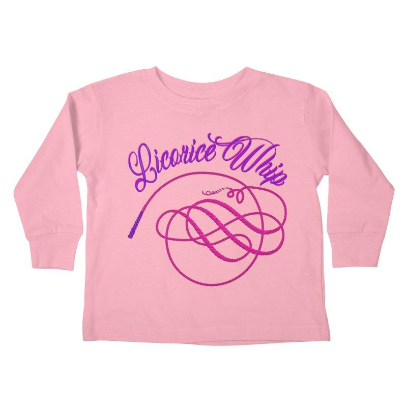 Licorice Whip Kids Toddler Longsleeve T-Shirt by ganymedesgirlscommunity's Artist Shop