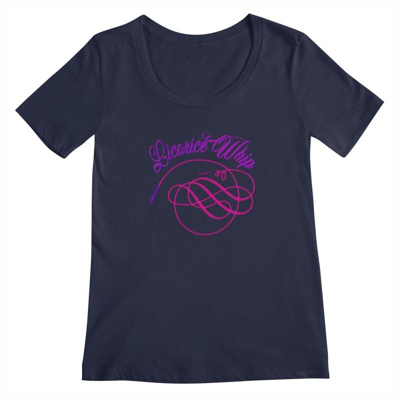 Licorice Whip Women's Regular Scoop Neck by ganymedesgirlscommunity's Artist Shop