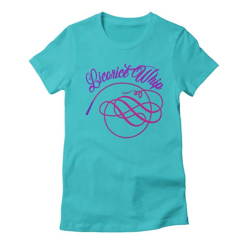 Licorice Whip Women's Fitted T-Shirt by ganymedesgirlscommunity's Artist Shop