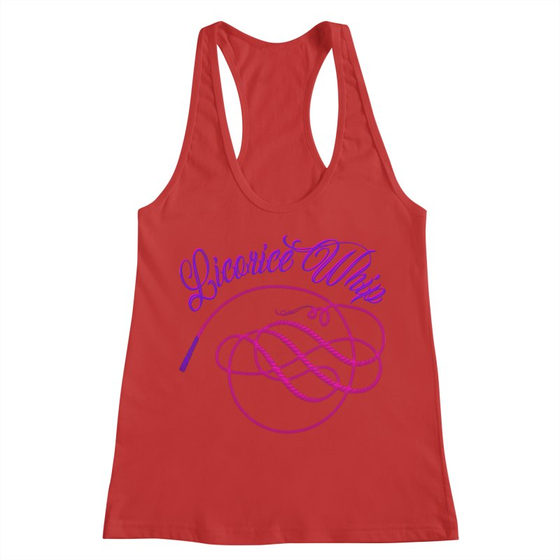 Licorice Whip Women's Racerback Tank by ganymedesgirlscommunity's Artist Shop