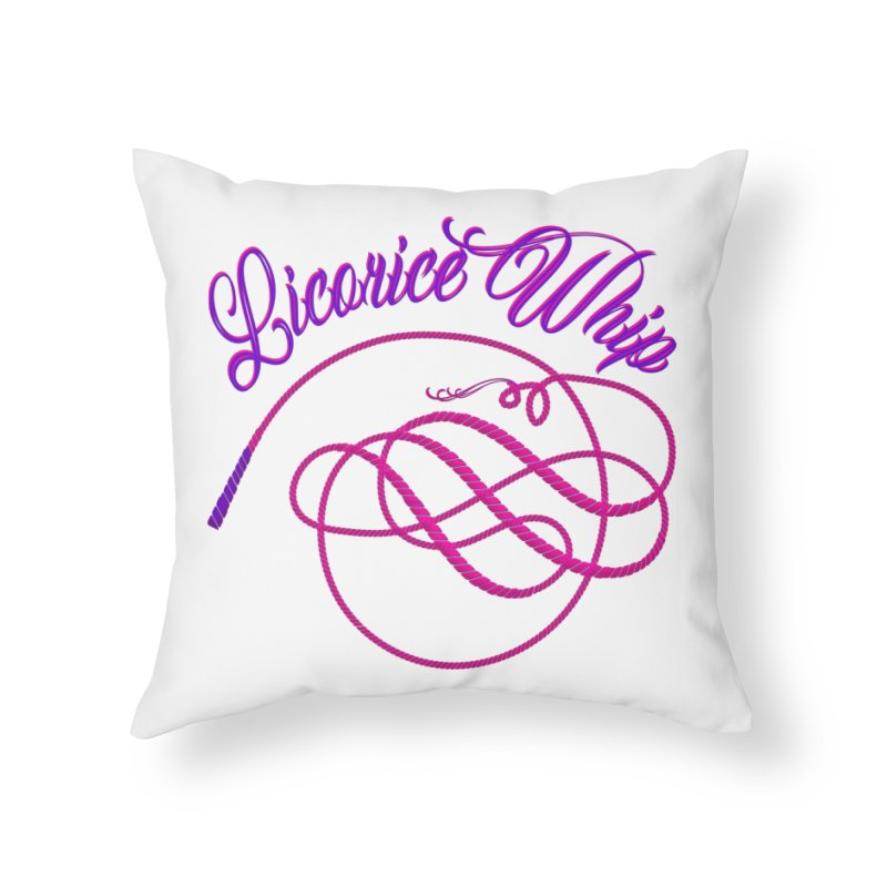 Licorice Whip Home Throw Pillow by ganymedesgirlscommunity's Artist Shop