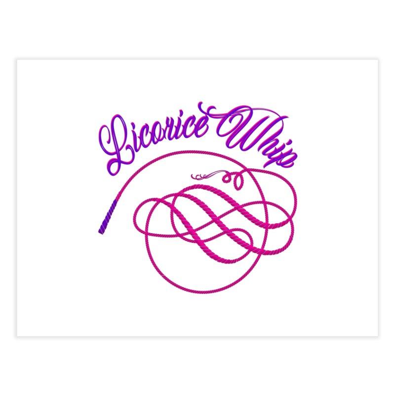 Licorice Whip Home Fine Art Print by ganymedesgirlscommunity's Artist Shop