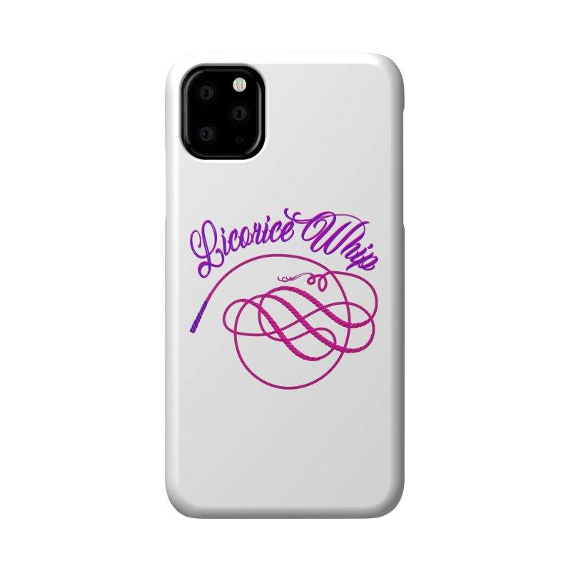 Licorice Whip Accessories Phone Case by ganymedesgirlscommunity's Artist Shop
