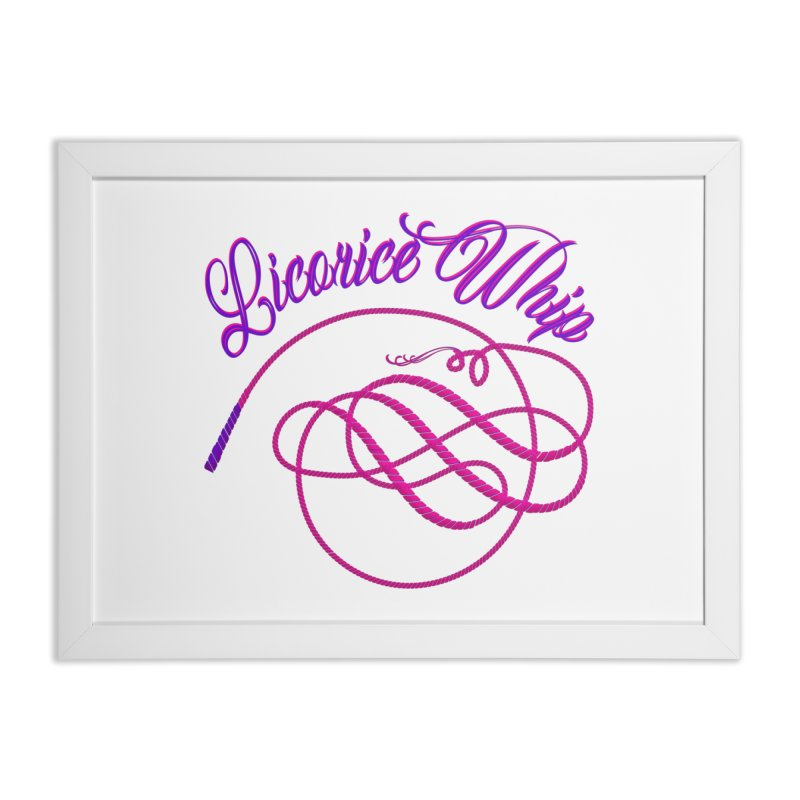 Licorice Whip Home Framed Fine Art Print by ganymedesgirlscommunity's Artist Shop