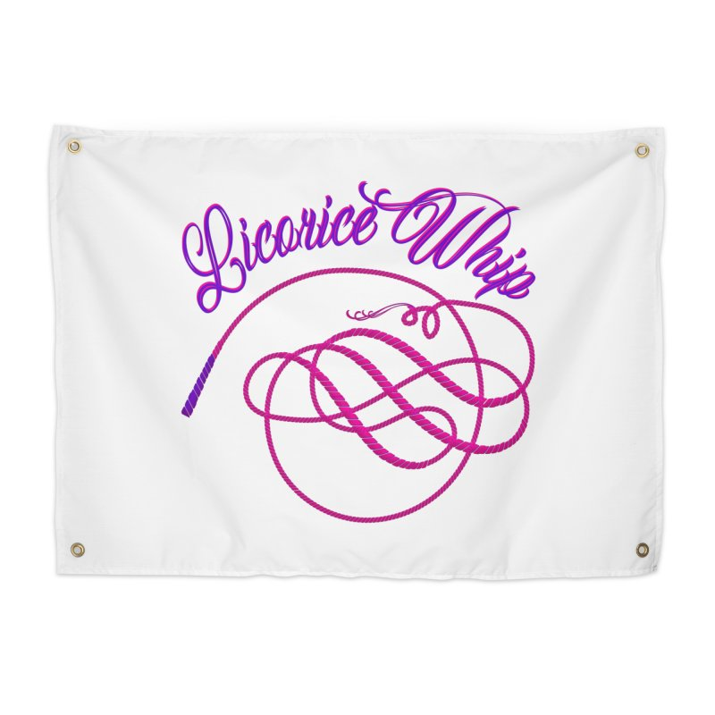 Licorice Whip Home Tapestry by ganymedesgirlscommunity's Artist Shop