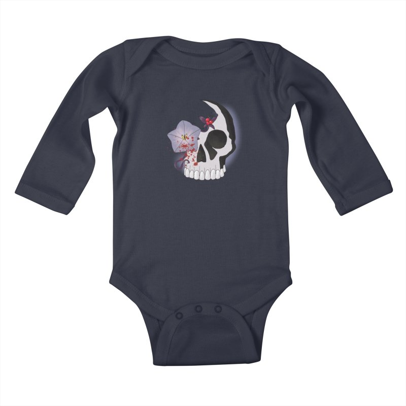 Team Nightshade Kids Baby Longsleeve Bodysuit by ganymedesgirlscommunity's Artist Shop