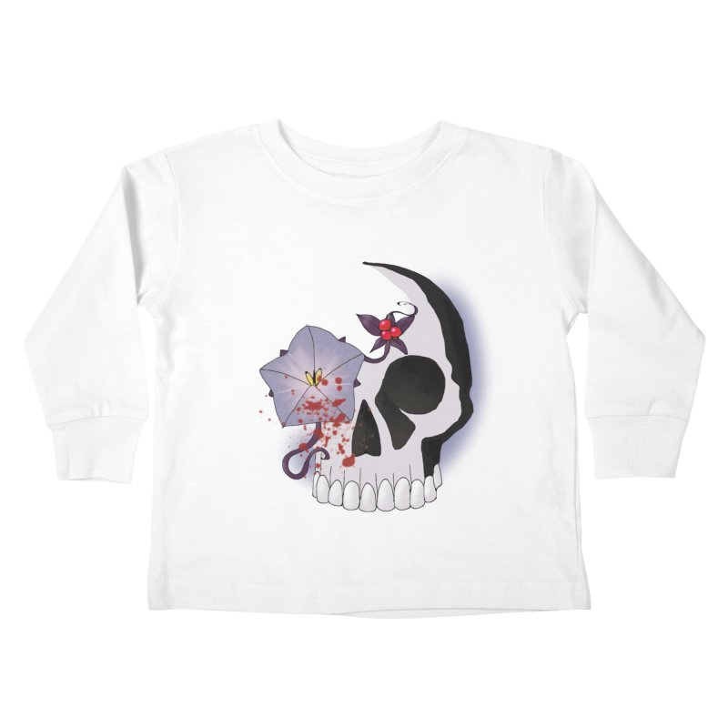 Team Nightshade Kids Toddler Longsleeve T-Shirt by ganymedesgirlscommunity's Artist Shop