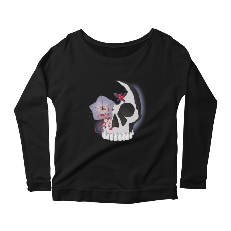 Team Nightshade Women's Scoop Neck Longsleeve T-Shirt by ganymedesgirlscommunity's Artist Shop