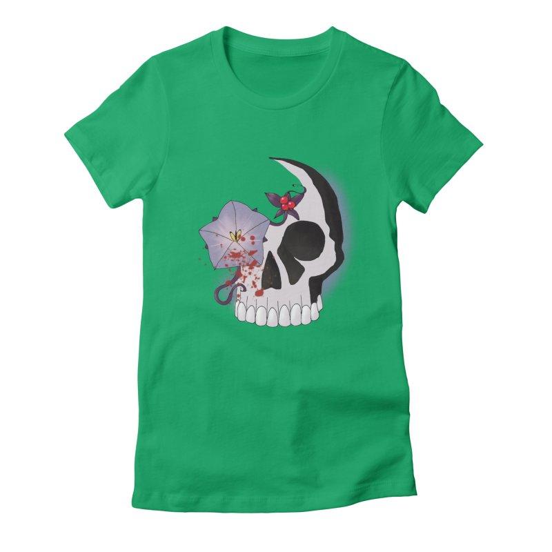 Team Nightshade Women's Fitted T-Shirt by ganymedesgirlscommunity's Artist Shop