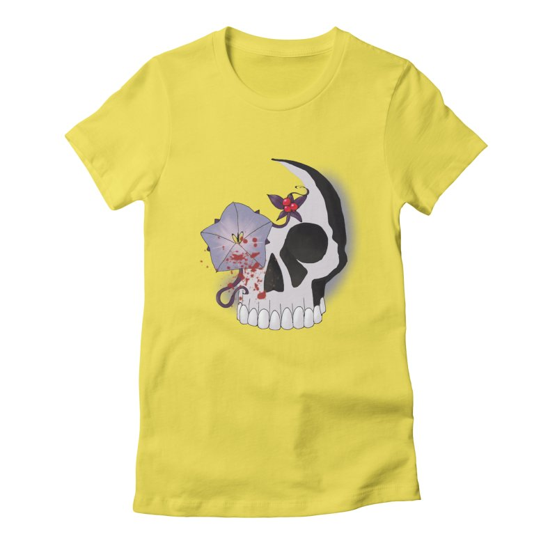 Team Nightshade Women's Fitted T-Shirt by ganymedesgirlscommunity's Artist Shop