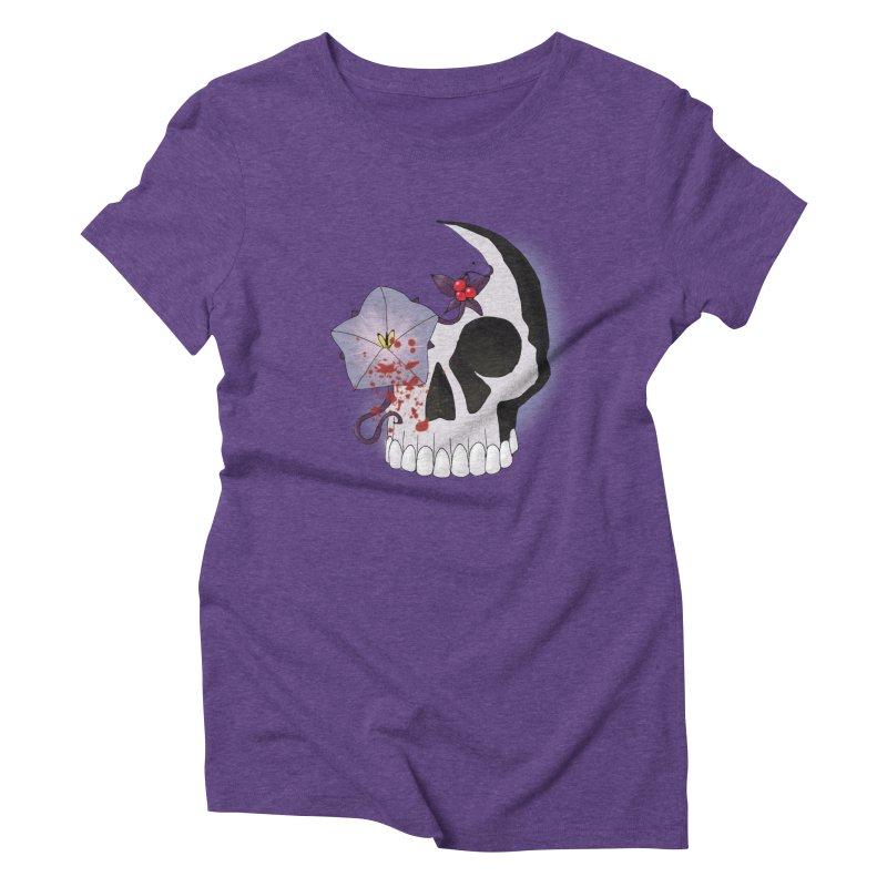 Team Nightshade Women's Triblend T-Shirt by ganymedesgirlscommunity's Artist Shop