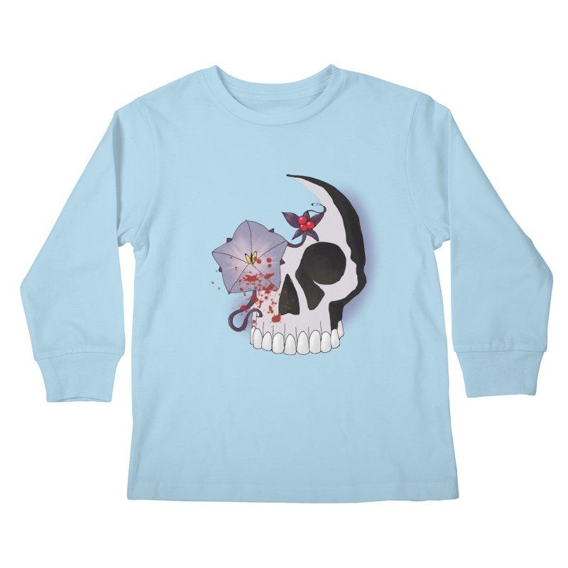 Team Nightshade Kids Longsleeve T-Shirt by ganymedesgirlscommunity's Artist Shop
