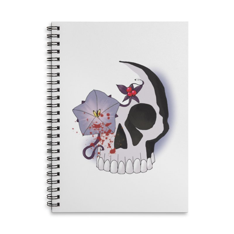 Team Nightshade Accessories Lined Spiral Notebook by ganymedesgirlscommunity's Artist Shop