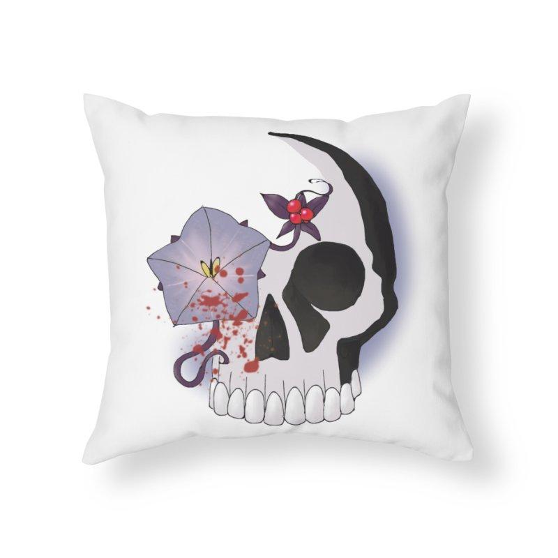 Team Nightshade Home Throw Pillow by ganymedesgirlscommunity's Artist Shop