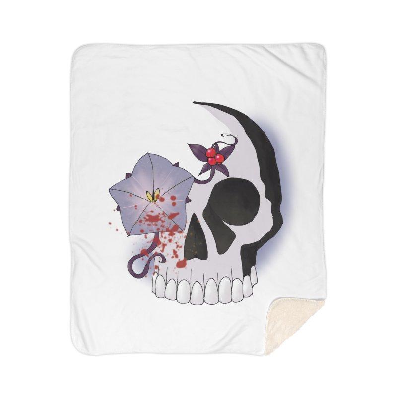 Team Nightshade Home Sherpa Blanket Blanket by ganymedesgirlscommunity's Artist Shop