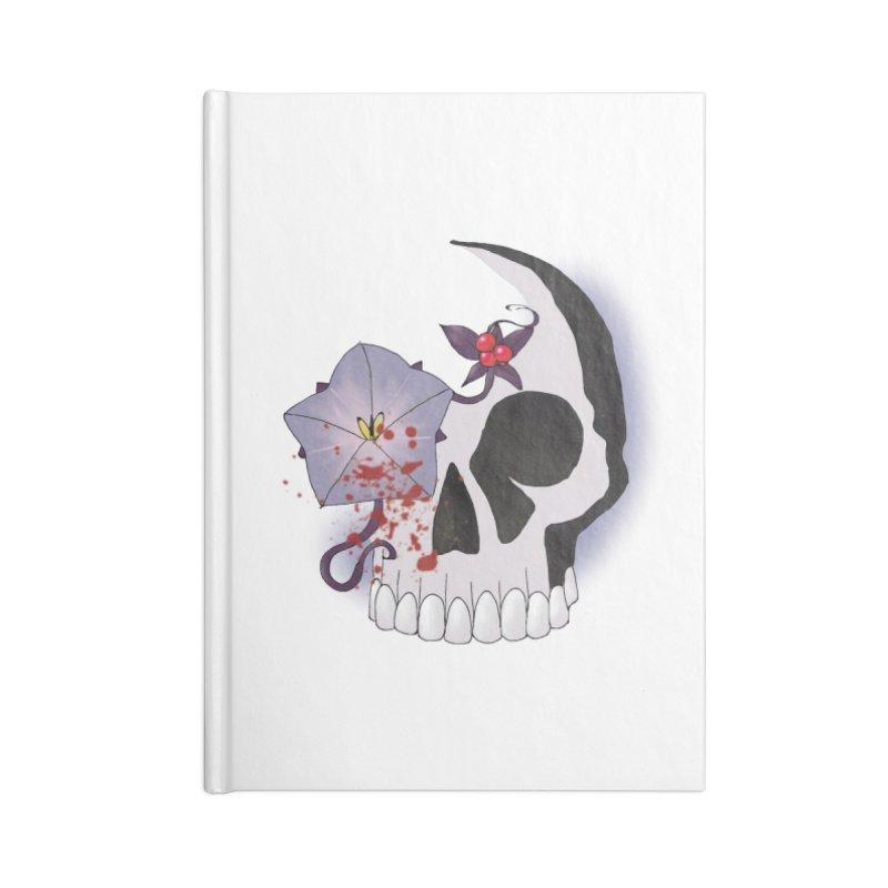 Team Nightshade Accessories Lined Journal Notebook by ganymedesgirlscommunity's Artist Shop