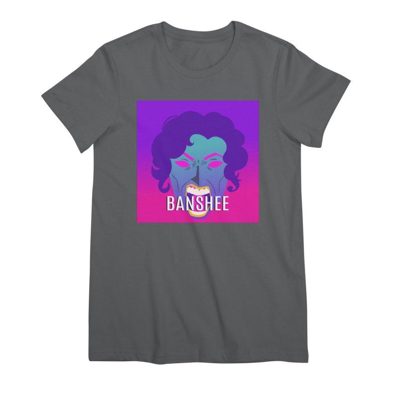 Banshee Women's T-Shirt by ganymedesgirlscommunity's Artist Shop