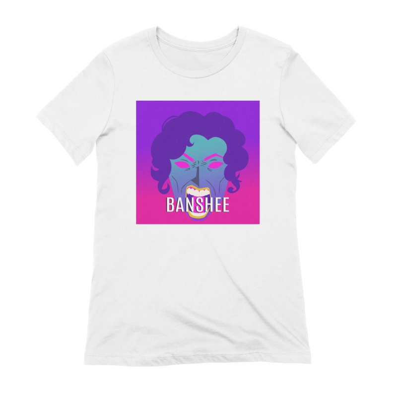 Banshee Women's Extra Soft T-Shirt by ganymedesgirlscommunity's Artist Shop