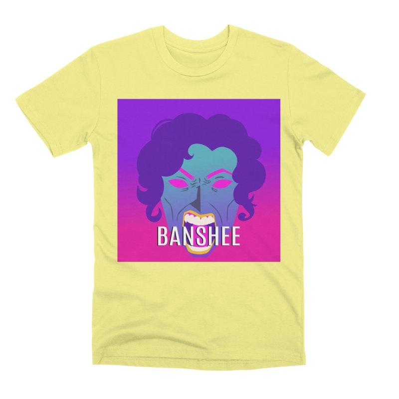 Banshee Men's Premium T-Shirt by ganymedesgirlscommunity's Artist Shop